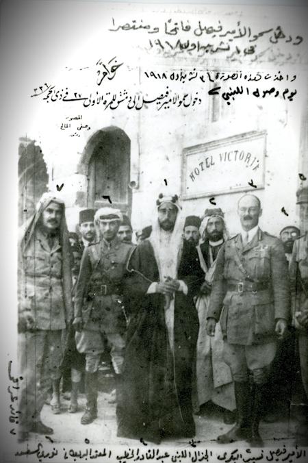 الملك فيصل بن الحسين - ملك سوريا ١٩٢٠ ثم ملك العراق للفترة (١٩٢١-١٩٣٣) Img140